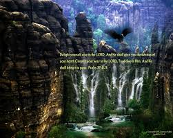 eagle verse waterfalls trust scenic mountains scripture christian