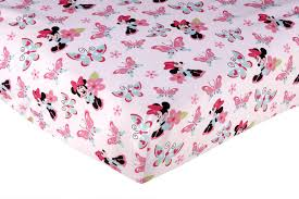 Baby Minnie Mouse Crib Bedding Set 5 Pieces by Baby Crib Sheet Size American Baby Company Knit Fitted Crib Sheet