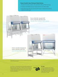 thermo fisher biosafety cabinet thermo scientific class ii biological safety cabinets and laminar