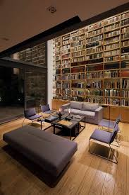 cool home library interior design ideas