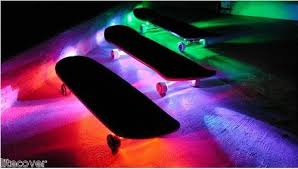 Led Strip Lights Battery Powered Skateboard Battery Powered Led Waterproof By Coloradohulahoops
