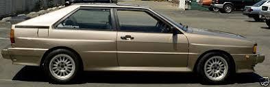 1983 audi quattro just a car 1983 audi ur quattro