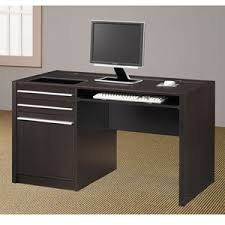 Contemporary Writing Desk Computer Desks Contemporary Writing Desk W Power Strip 800702 Co
