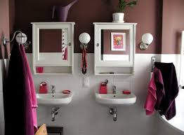 Purple And Gray Bathroom - colors of nature contemporary interiors with a dash of fuchsia