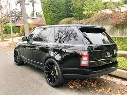 range rover black rdbla range rover black out with forgiato wheels rdb la five