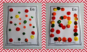 letter e crafts abcs of ee is for