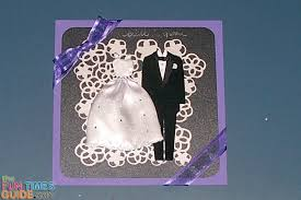 Bride To Groom Wedding Card Diy Wedding Card Tips Step By Step Instructions The Cardmaking