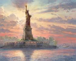 statue of liberty the thomas kinkade company