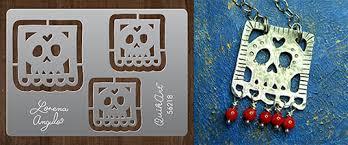 lorena angulo u0027s papel picado templates metal clay supply blog