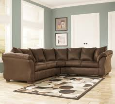 Pillow Arm Sofa Slipcover by Contemporary Sectional Sofa With Sweeping Pillow Arms By Signature
