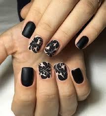 50 black nail art designs nenuno creative