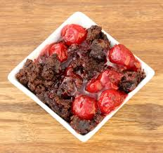 crock pot chocolate cherry dump cake recipe black forest the