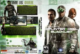 capa splinter cell blacklist pc exclusiva gamecover capas