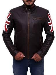 brown motorcycle jacket mens biker vintage motorcycle leather jacket ideal jackets