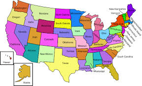 united states map with labels of states and capitals america map with labels