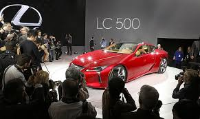 lexus supercar youtube lexus lc 500 luxury coupe to debut at detroit auto show and it u0027s