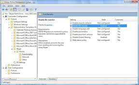how to control skype in a corporate setting raffye memon u0027s blog