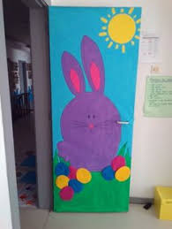 Easter Classroom Door Decorations Pinterest by A Fun Library Or Door Decoration For Easter And Spring