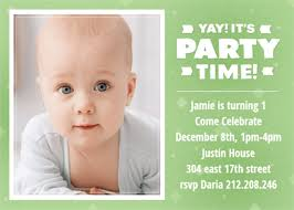 1st birthday invitations she even sang at his 30th birthday party