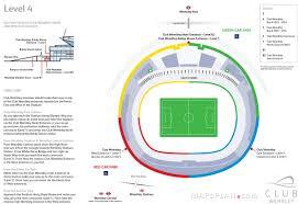 wembley stadium seating plan detailed seat numbers mapaplan com level 4 club wembley boxes wembley stadium seating plan