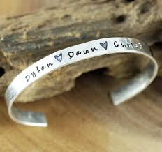 Personalized Cuff Bracelet Personalized Cuff Bracelet At Sweet Blossom Gifts