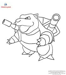 pokemon blastoise coloring pages coloring pages