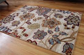 5x7 Area Rugs by Flooring Inspiring Wheat 5x7 Area Rugs With Flowers Motif For