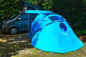 Camper Van Awnings Sheltapod Campervan Awning Adapts To Changing Weather Video