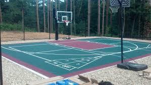 versacourt basketball court basketball courts pinterest
