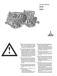 deutz bf6m 1013 operation manual internal combustion engine