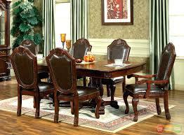 impressive custom art deco mahogany dining table with square back