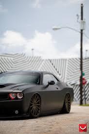 Dodge Challenger Matte Black - matte black challenger srt8 on vossen wheels muscle batmobile