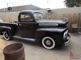 Old Ford V8 Truck - 1951 pick up ute v8 rat rod cruiser f1 f100 f150 f250 classic big