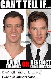 Cumberbatch Meme - cant tellif evisi goran np benedict dragic cumberbatch can t tell if