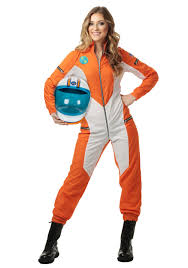 Womens Astronaut Jumpsuit Astronauts Costumes And Woman Costumes