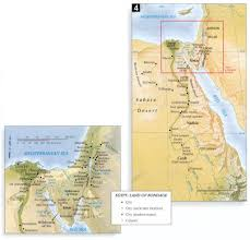 Map Of The Red Sea Bible Maps Precept Austin