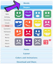 teach synonyms with emoji word clouds the techie teacher