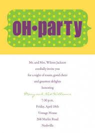 Party Invitation Wording 5 Perfect Dinner Party Invitation Wording Casual Srilaktv Com