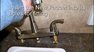 easy upgrading to a better kitchen faucet u0026 sprayer rv camper