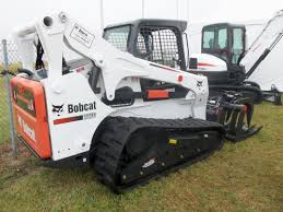 bobcat t870 track loader awesome machines seen one leveling sand