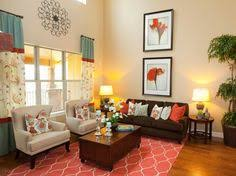 meadow view tobi fairley interior design red turquoise living
