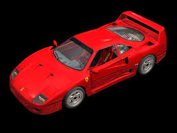 model f40 f40 two door coupe 3d model 3dsmax files free