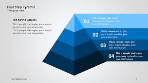 powerpoint templates free download ocean pyramid ppt template four step pyramid 3d ppt diagram slide ocean