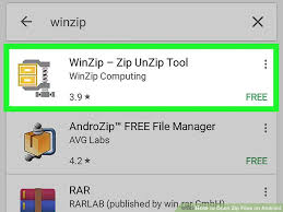 how to unzip files on android how to open zip files on android 13 steps with pictures
