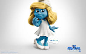 wallpaper smurf