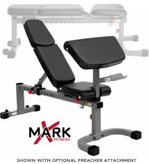 Commercial Weight Benches Xmark Commercial Flat Incline Weight Bench Xm 7603