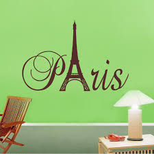 paris art eiffel tower removable vinyl wall stickers decals quote paris art eiffel tower removable vinyl wall stickers decals quote living room bedroom background home decor free shipping in wall stickers from home