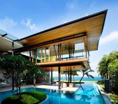 open house designs fish houses open house design for tropical climate singapore by