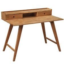 bureau ordinateur bois bois bureau avec tiroirs scandinave minimaliste bureau ordinateur