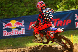 red bull racing motocross motocross press troy lee designs red bull ktm u0027s martin earns